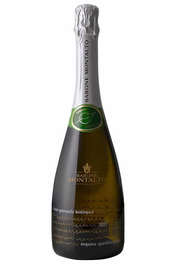Barone MontaltoPinot Grigio Brut i en 750 Flaska Mousserande vinfrån Italien